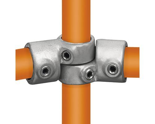 Spojka uhlová BUILDIFY oceľová pre nábytok z rúrok Ø 33 mm kĺbová nastaviteľná