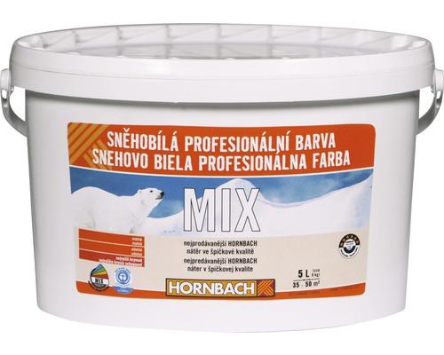 Snehobiela profesionálna farba Hornbach MIX, báza C 5l