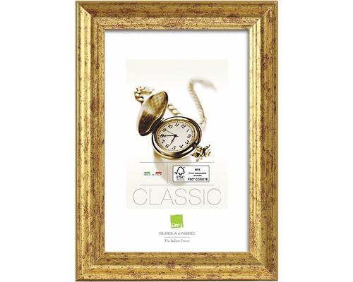 Drevený fotorámik zlatý 50x70 cm