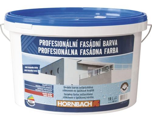Profesionálna fasádna farba Hornbach biela 10 l