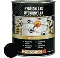 Hybridný lak Hornbach čierna, lesklý 375 ml
