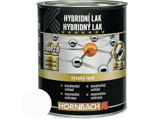 Hybridný lak Hornbach barytová biela, lesklý 375 ml
