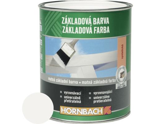 Základová farba na drevo Hornbach biela 750 ml