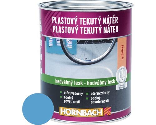 Farba na betón Hornbach svetlomodrá, hodvábne matná 2,5 l
