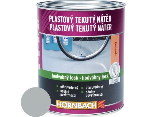 Farba na betón Hornbach strieborno sivá, hodvábne matná 2,5 l