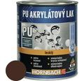 Akrylátový lak na vodnej báze Hornbach čokoládovo hnedá, lesklý 375 ml