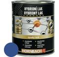 Hybridný lak Hornbach 375 ml enciánová modrá lesk