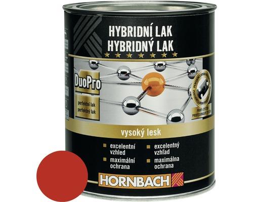Hybridný lak Hornbach ohnivo červená, lesklý 375 ml