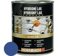 Hybridný lak Hornbach 750 ml enciánová modrá lesk