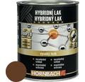 Hybridný lak Hornbach orechovo hnedá, lesklý 375 ml