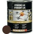 Hybridný lak Hornbach čokoládovo hnedá, lesklý 375 ml