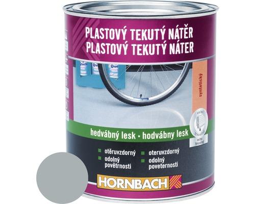 Farba na betón Hornbach strieborno sivá, hodvábne matná 5 l