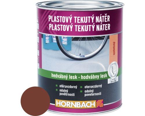 Farba na betón Hornbach červenohnedá, hodvábne matná 750 ml