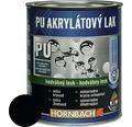 Akrylátový lak na vodnej báze Hornbach čierna, hodvábny lesk 375 ml