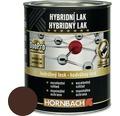 Hybridný lak Hornbach čokoládovo hnedá, hodvábne lesklý 375 ml