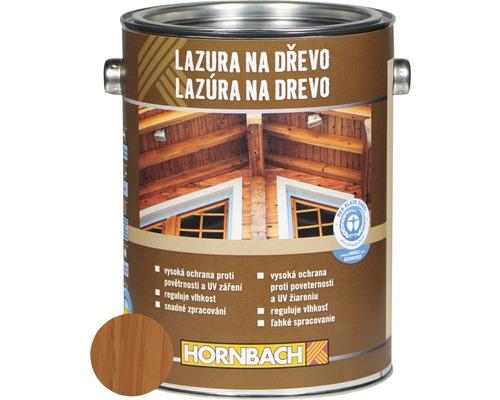 Univerzálna lazúra na drevo Hornbach, mahagón 2,5 l