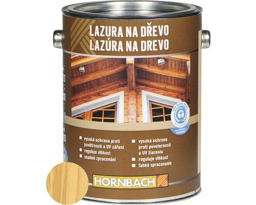 Univerzálna lazúra na drevo Hornbach, borovica 2,5 l