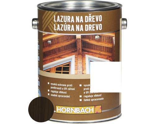 Univerzálna lazúra na drevo Hornbach, palisander 2,5 l