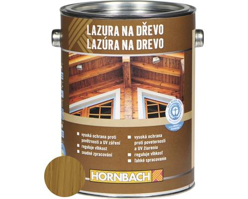 Univerzálna lazúra na drevo Hornbach, dub 2,5 l