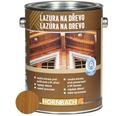 Univerzálna lazúra na drevo Hornbach, teak 2,5 l