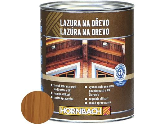 Univerzálna lazúra na drevo Hornbach, teak 750 ml