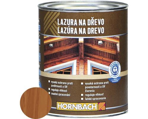 Univerzálna lazúra na drevo Hornbach, mahagón 750 ml