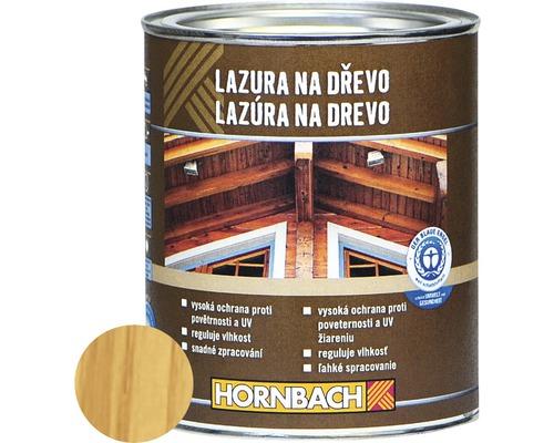 Univerzálna lazúra na drevo Hornbach, borovica 750 ml