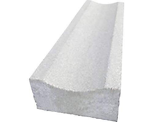Betónový žľab 50x20 cm, šedý