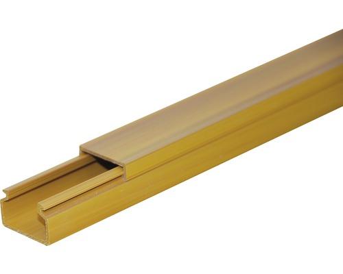 Lišta na káble svetlé drevo LV 40x20 mm, 2m