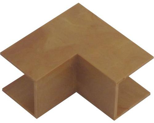 Ukončovací profil rohový vnútorný svetlé drevo 18x18 mm