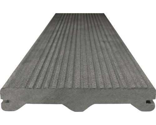 Terasová WPC doska Woodplastic Ambiente 23 x 137 x 3000 mm tmavo šedá