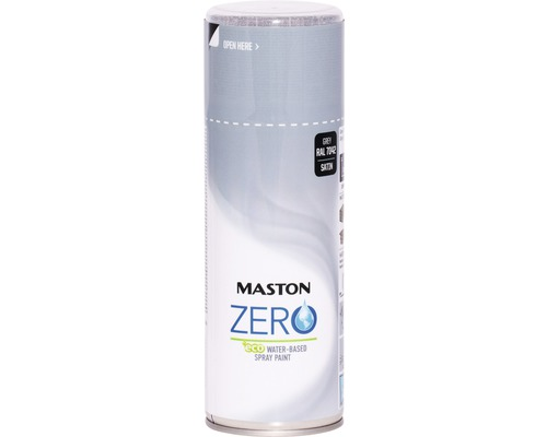 Farba v spreji ZERO Maston sivá 400 ml