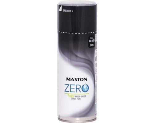 Farba v spreji ZERO Maston čierna 400 ml