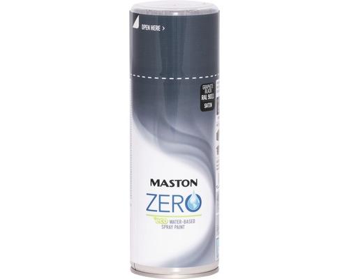 Farba v spreji ZERO Maston grafitovo čierna 400 ml