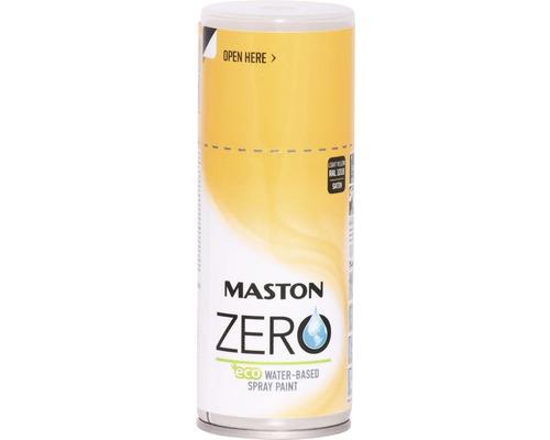 Farba v spreji ZERO Maston zinkovo žltá 150 ml