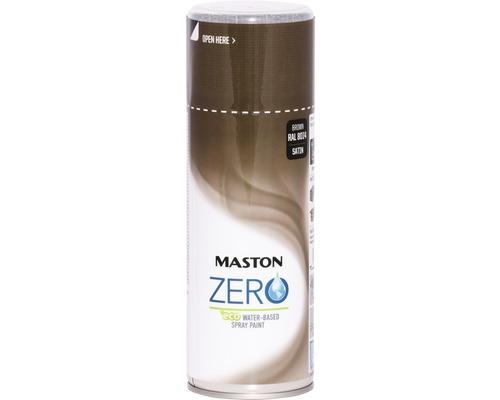 Farba v spreji ZERO Maston hnedá 400 ml