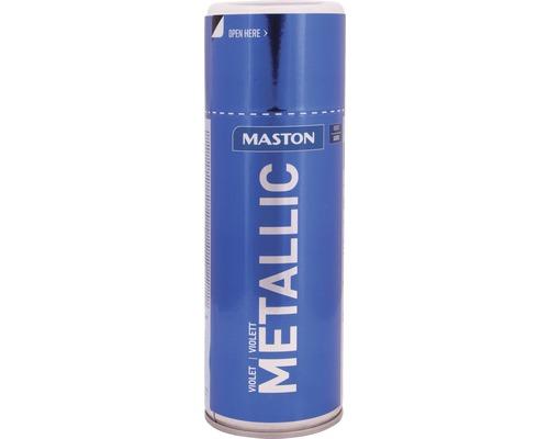 Farba v spreji Metallic Maston modrá 400 ml