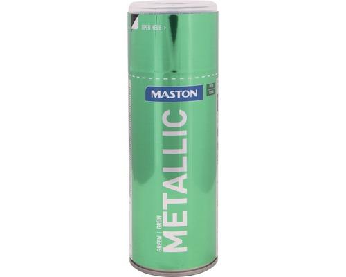 Farba v spreji Metallic Maston zelená 400 ml