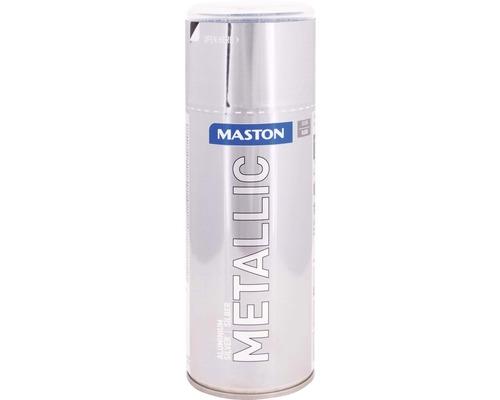 Farba v spreji Metallic Maston strieborná metalická 400 ml