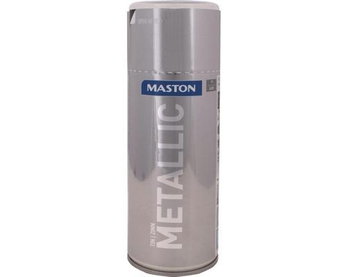 Farba v spreji Metallic Maston cín 400 ml
