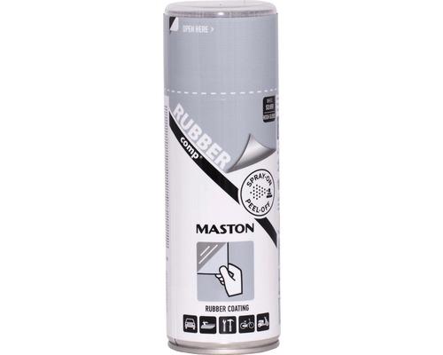 Guma v spreji RUBBERcomp Maston strieborná metalický 400 ml