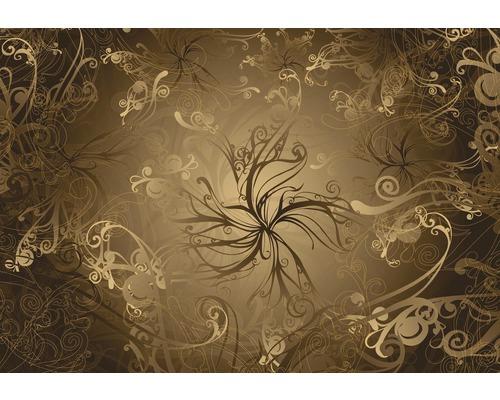 Fototapeta Ornament Gold 368x254 cm