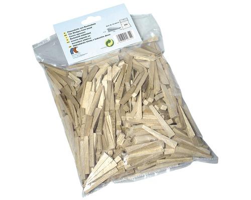 Kliny na obklady a dlažbu z bukového dreva Kaufmann 500 kusov