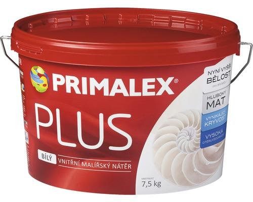 Primalex Plus biela farba na stenu 7,5 kg