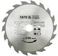 Kotúč na drevo Yato YT-6055, 160x20 mm 18z