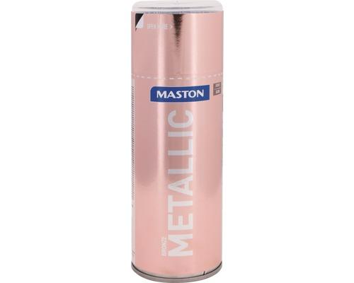 Farba v spreji Metallic Maston bronzový 400 ml