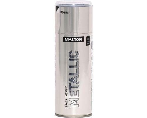 Farba v spreji Metallic Maston mosadz 400 ml