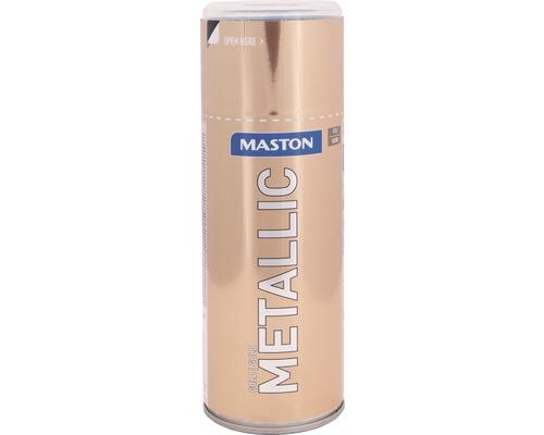 Farba v spreji Metallic Maston zlatá 400 ml