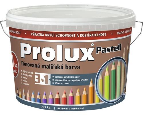 Oteruvzdorná farba na stenu Prolux Pastell hnedá 7 kg + 1 kg