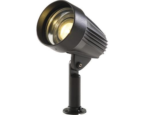 LED stĺpikové svietidlo ANCONA, čierne